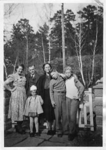 Familjen på Riksrådsvägen 38