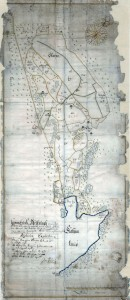Karta Skarpnäck 1671