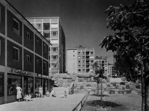 Kärrtorps centrum 1955