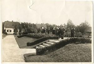 Invigningen av Lagmansplans park