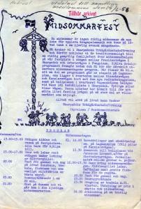 Midsommarutskick 1958.