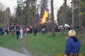 Valborg 2002.