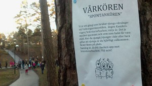 Valborg 2013, affisch spontankör