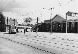 Enskedehallen på 1940-talet.