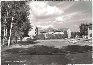 Hemgården från vändslingan 1960-tal?