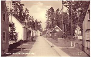 Matilda Ljungstedts väg, 30-tal