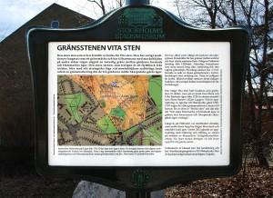 Stadsmuseets skylt 2014